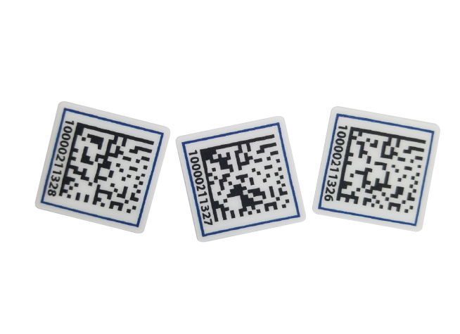 Data matrix Bar code labels