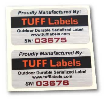 Tuff Serial Number1-20
